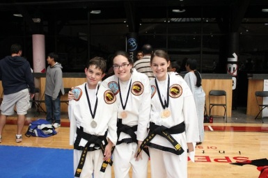 Back in the TaeKwonDo days!
